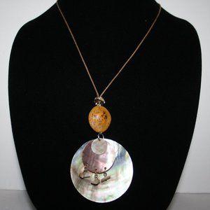 Beautiful boho Shell necklace